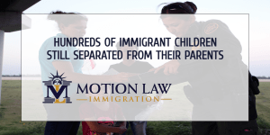 Hundreds of immigrant minors have not been able to find their parents