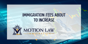 Take advantage of current rates and submit your immigration app ASAP