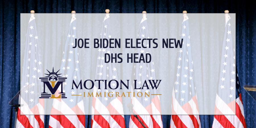Biden announces who will be the Secretary of DHS