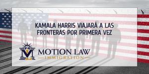 La vicepresidenta Harris visitará las fronteras por primera vez