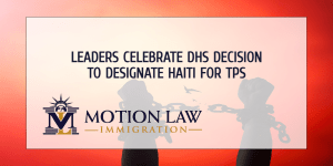 Leaders celebrate the DHS decision to extend TPS for Haiti