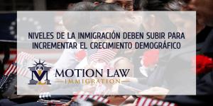 ¿Cuánto debería crecer la inmigración para equilibrar los resultados del censo?