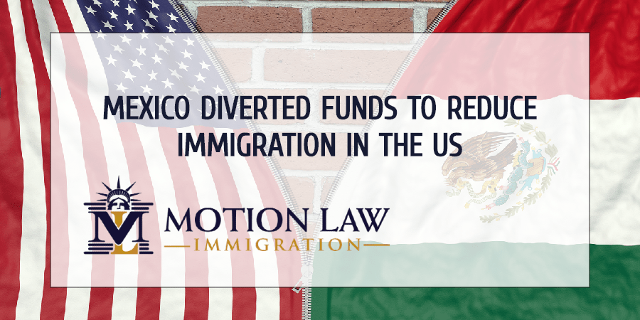 Mexico diverted social funds in 2019 to reduce illegal immigration in the US