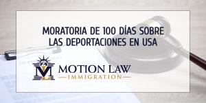 ICE ya inició la moratoria de 100 días sobre las deportaciones