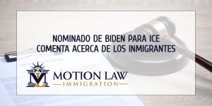 Nominado de Biden para liderar ICE habla de sus futuras labores