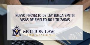 Proyecto de ley propone usar visas de empleo del AF 2020 y 2021