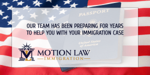 Motion Law Immigration's team has vast experience