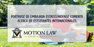 Portavoz de Embajada en Beijing comenta acerca de restricciones de visas estudiantiles