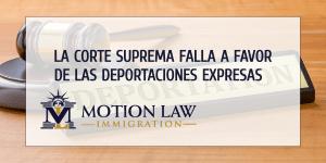 Las deportaciones expresas son permitidas para algunos casos de asilo
