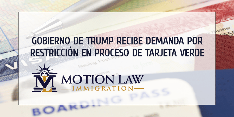 Inmigrantes demandan gobierno de Trump por limitaciones en TPS y LPR