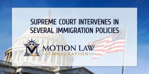 Supreme Court reviews three Trump immigration policies