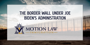 Biden's stance on the border wall