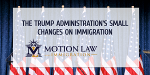 Trump's government implemented more than 400 changes in the immigrations sector
