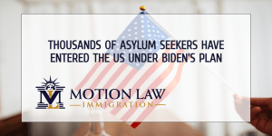 The Biden administration has already received thousands of asylum seekers