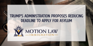 Trump administration proposes to cut the asylum deadline to just 15 days