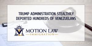 Trump government deported hundreds of Venezuelans despite border restrictions