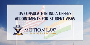 The US Consulate in Chennai offers student visas