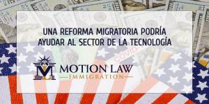 ¿Cómo podría ayudar la inmigración al sector de la tecnología?