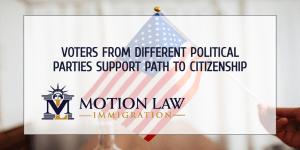 Battleground states also support the path to citizenship