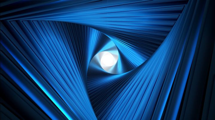 Abstract Twisted Tunnel Background