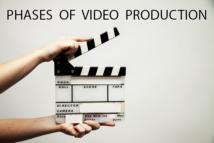 3 Phases Of Video  Production