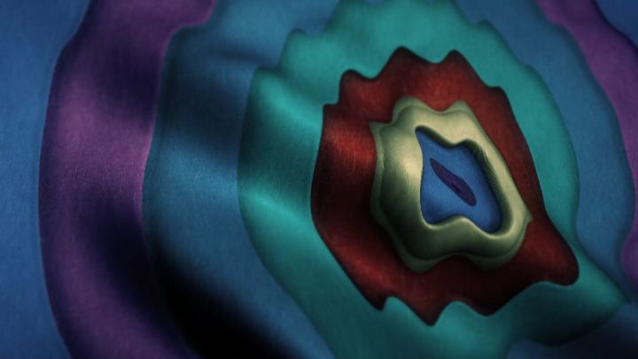 Psychedelic Cloth Background Animation