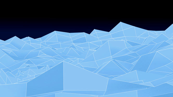 Abstract Landscape Motion Background Loop