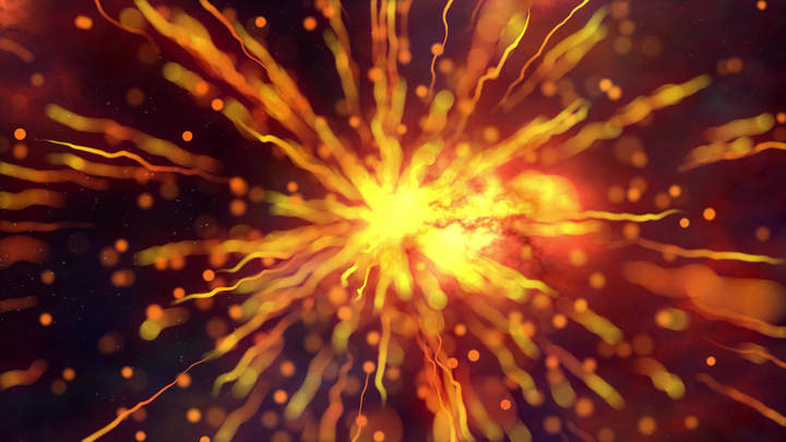 Read more about the article Abstract Particles Lightwaves Background
