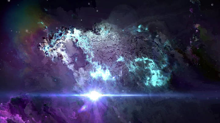 Abstract Space Background Video