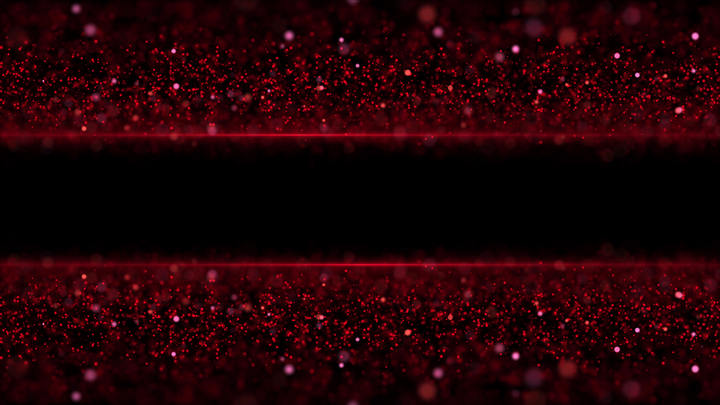 Abstract Shiny Red Particles Background Video