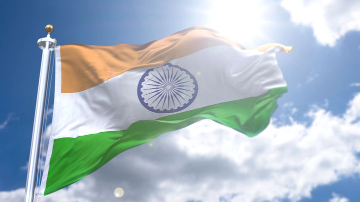 Waving Indian Flag Video Download