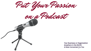 Put Your Passion on a Podcast cover image for presentations