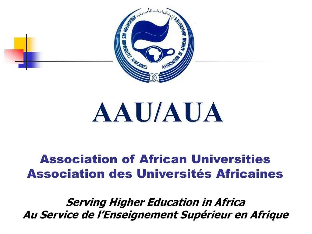 Association of African Universities Internship
