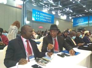 Amb. Simeon Uwa, - Executive Secretary/Administrator of the International Summit Council for Peace - Africa,