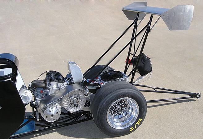 Jr Dragster Rear Wheels