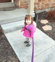 backpack harness child leash