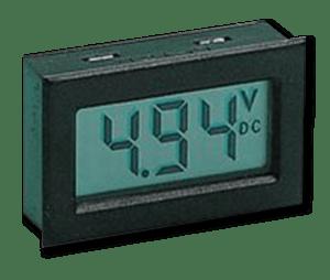 Aprilia Caponord ETV1000 Rally-Raid DMS-20LCD-1-DCM-C Datel voltmeter