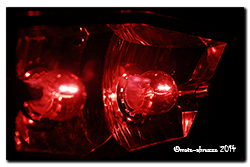 Aprilia Caponord ETV1000 Rally-Raid. Tail-lights