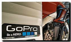 Aprilia Caponord ETV1000 Rally-Raid - GoPro