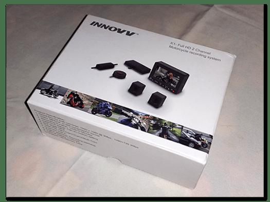 Aprilia Caponord ETV1000 Rally-Raid INNOVV K1 full HD dual channel camera kit