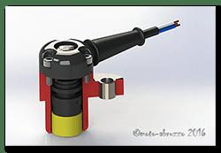 Aprilia Caponord ETV1000 Rally-Raid 3D printed Speedometer sensor AP8124985 1GP7001 Honeywell
