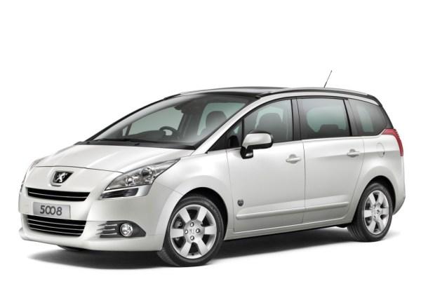 Peugeot 5008 front