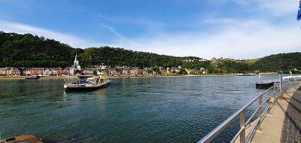 Sankt Goarhausen - met de motor de Rijn over Moto Maestro