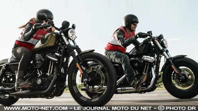 Une vingtaine de moto-écoles pour passer le permis en Harley-Davidson