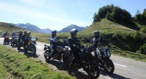 voyage moto pyrenees, balades moto pyrenees, moto dans les pyrenees