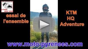 vidéo KTM Adventure
