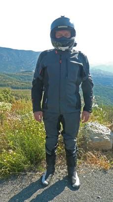 pantalon et veste moto marque KTM