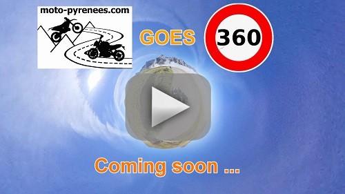 Vidéo en 360 degrés sur les balades moto de Moto-Pyrénées