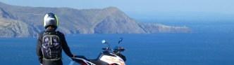 Bagster sac à dos idéal pour faire la traversée des Pyrénées en moto