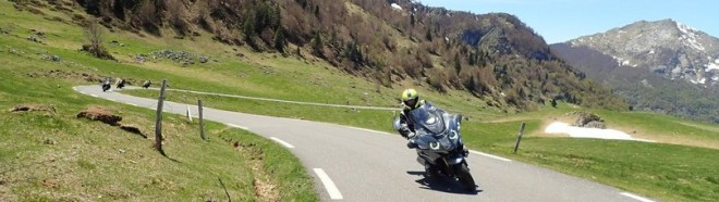 qualité prix des balades moto pyrénées est hors norme